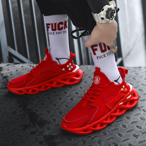 Image 5 - Plus Size 39 46 men sneakers Lightweight training Breathable Comfortable fashion shoes men #AB021