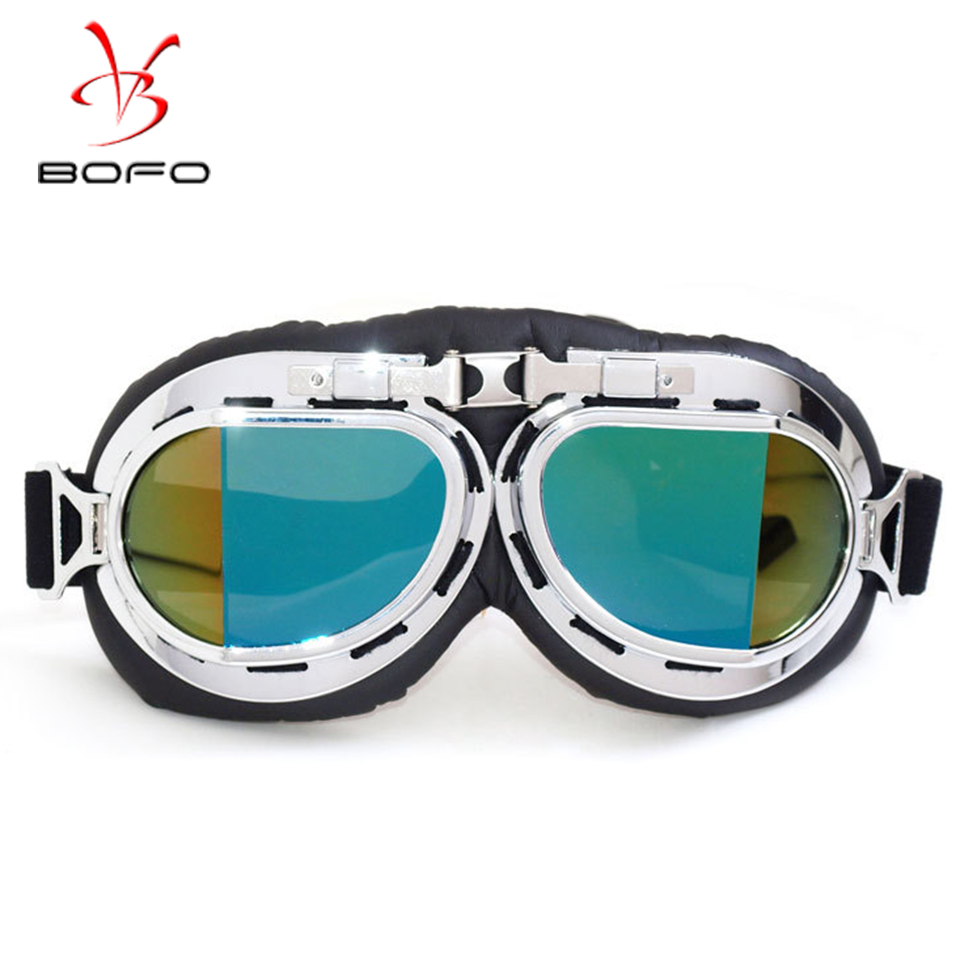 Harley Goggles Retro World War II Goggles Harley Goggles For Motorcycle Windproof Sand Labor Glasses Off-road Helmet Goggles
