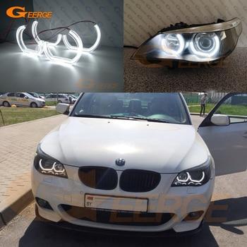 For BMW E60 E61 520i 525i 530i 540i 545i 550i M5 Pre LCI 2003-2007 Excellent DTM M4 Style Ultra bright led Angel Eyes halo rings