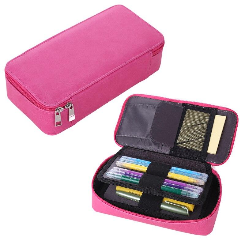 Korean Penal Cute Pencil Case School Case For Girls Boy Pencilcase Cartridge Box Large Pen Bag Stationery Kit Big Pouch Supplies