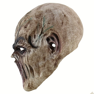 Image 3 - HOT SALE Halloween Bloody Scary Horror Mask Adult Zombie Mask Latex Costume Party Full Head Cosplay Mask Masquerade Props