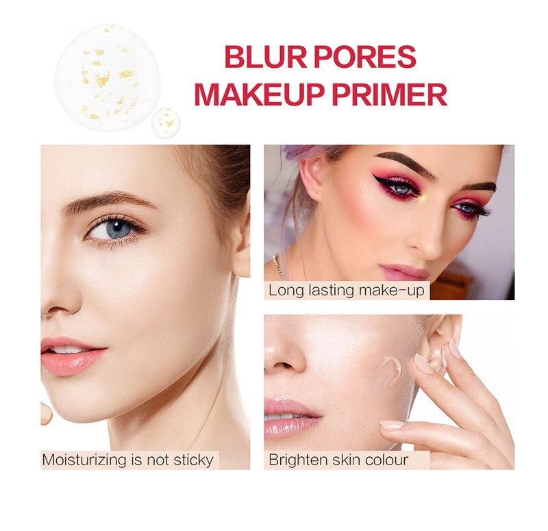 Baza twarzy podkład Płyn do makijażu matowy rozjaśnić fundacja podkład kosmetyczny drobne linie kontrola oleju krem do twarzy TSLM2 5