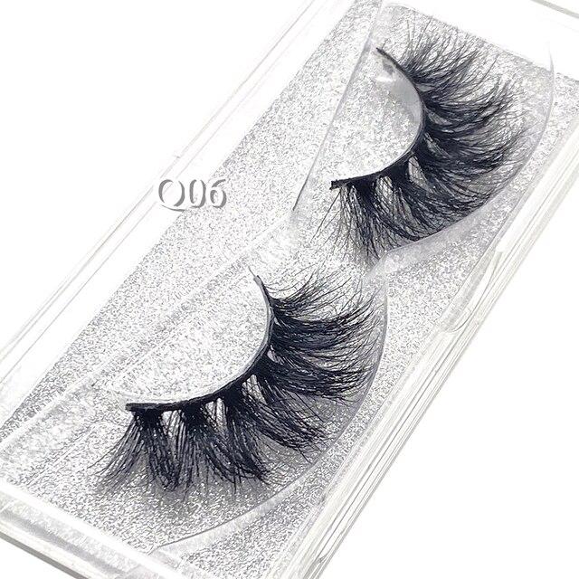Showerstar 20mm Lashes 6d Eyelashes Extension Sexysheep Fake Makeup Eyelash Natural Fluffy No Cruelty Human Hair Pull Box D22 5