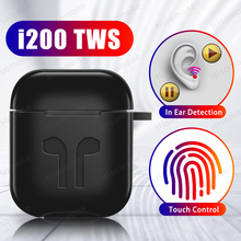 i200 TWS Aire2 Bluetooth 5.0 Earphone PK W1 H1 In Ear Detection Touch