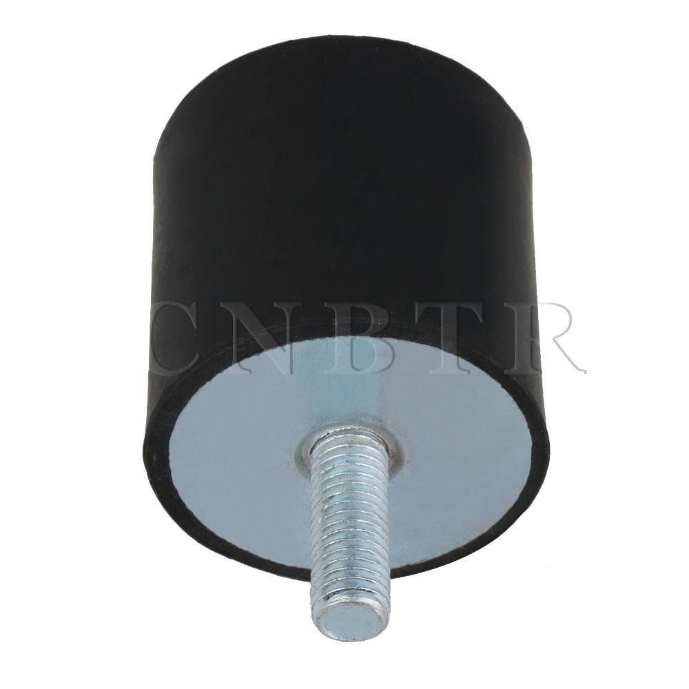 2pcs New 40*30*M8 M8 Type VV Rubber Anti Vibration Mount silentblock Base Block