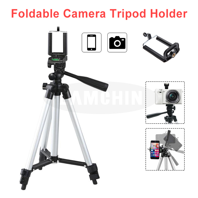 Universal Portable Mini Aluminum Phone Photography Tripod Holder And Built In Level 4 Section Professional SLR Camera Tripod