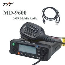 TYT MD-9600 DMR MOIBLE RADIO UHF/VHF Dual band 136-174MHz & 400-480MHz 50watt 10
