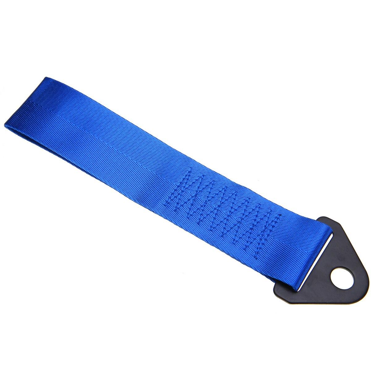 Mayitr 15 мм синий высокопрочный автомобиль Автогонки восстановление крюк Буксировочный ремень веревка нейлоновый ремень металлический кронш...