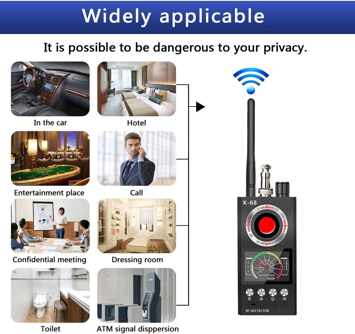 Anti Spy Detector wykrywacz błędów detektor RF ukryta kamera detektory wyszukiwarka kamer do bezprzewodowego wykrywania błędów kamery