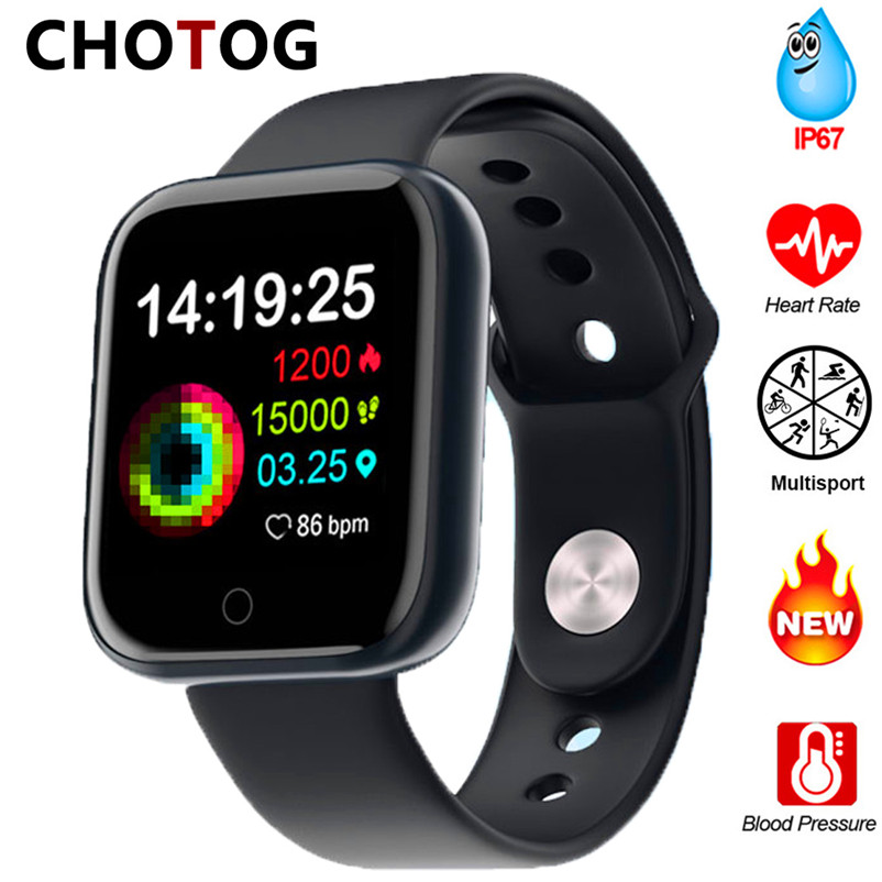 2020 Bluetooth Smart Watch Men Blood Pressure Smartwatch Women Waterproof Heart Rate Tracker Clock Watch Smart For Android IOS