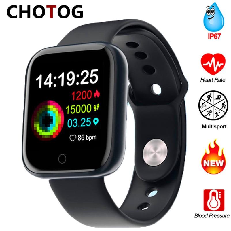 2020 Bluetooth Smart Watch Men Blood Pressure Smartwatch Women Waterproof Heart Rate Tracker Clock Watch Smart For Android IOS