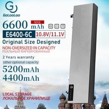 11,1 v Батарея для Dell Latitude E6400 M2400 E6410 E6510 E6500 312-0215 312-0748 312-0749 M4400 M4500 M6400 M6500 1M215
