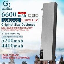Golooloo 6Cells 11.1V Pin Mới Dành Cho Dành Cho Laptop Dell Latitude E6400 M2400 E6410 E6510 E6500 312 0215 312 0748 312 0749 M4400 M4500 1M215