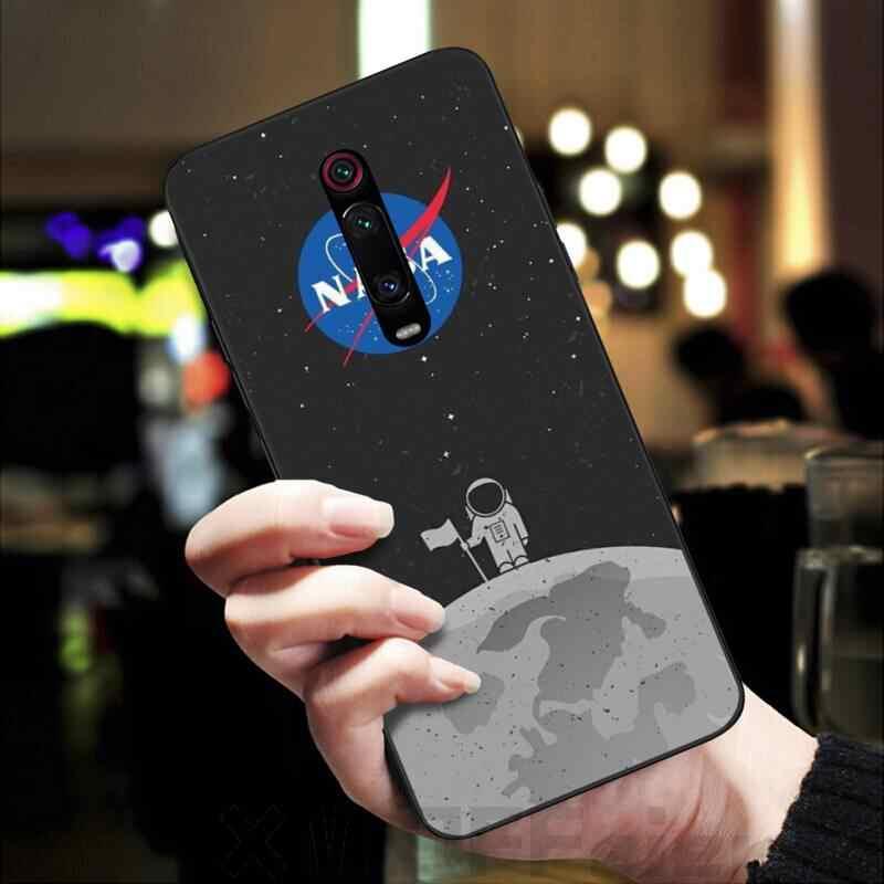 Lüks tasarımcı NAS uzay telefon kılıfı için Redmi K20 Note4 4X 5 5A 6 6PRO 7 8 8PRO kapak