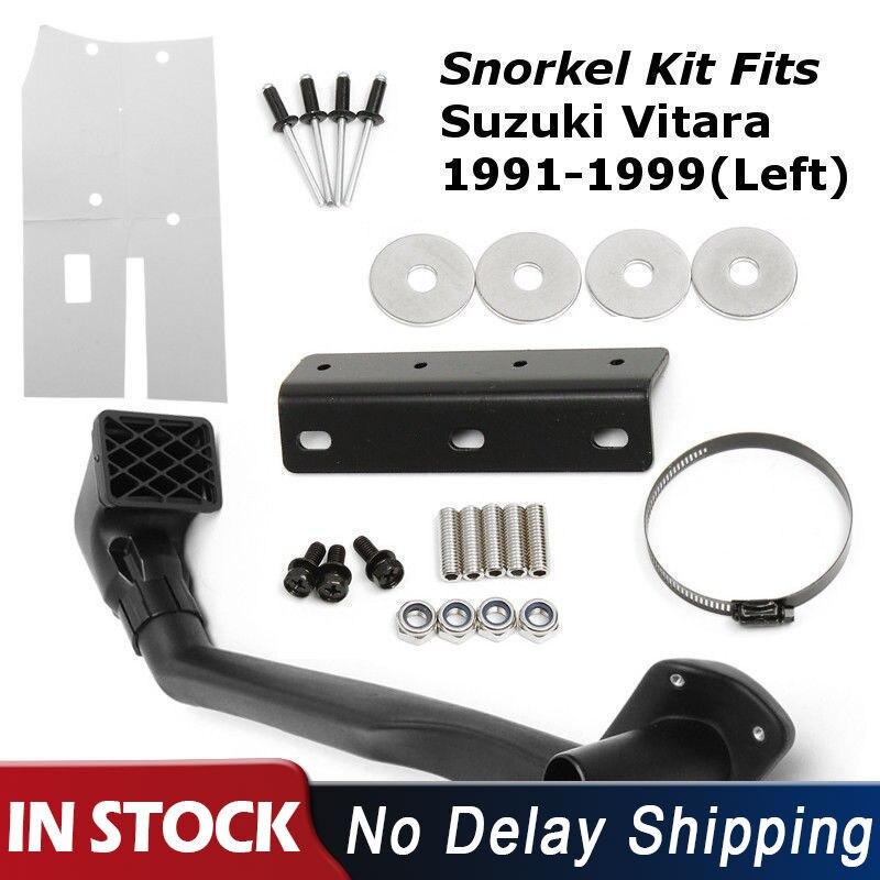 1 Set Snorkel Left Kit For Suzuki Vitara 1991-1999 1.6L Petrol G16B 4WD 4x4 Air Intake