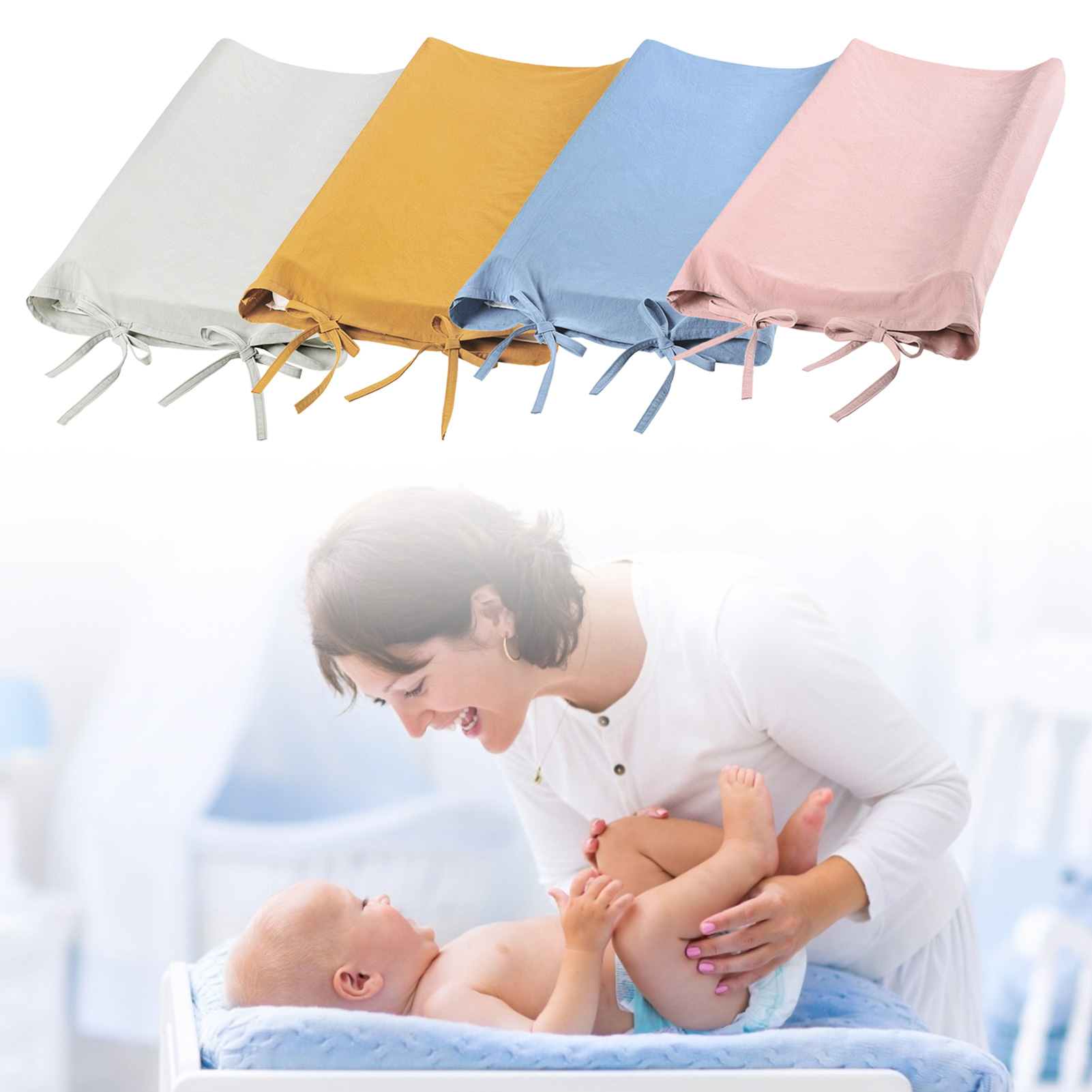 Baby Touch Massage Changing Station Cotton Cover