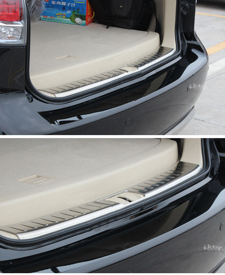 Fit LEXUS RX350 RX450H 2016 2017 2018 N Rear Bumper Protector Sill Plate Cover