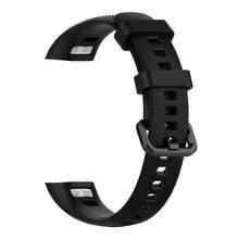 Silikon Bilek Wrist Strap For Huawei Honor Band 5 Standard Smart Wristband Sport Replacement Wrist Strap Bracelet Belt