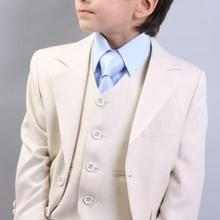 Kid Casual Blazers Suit For Baby Boy Beige Child Coat Fashio