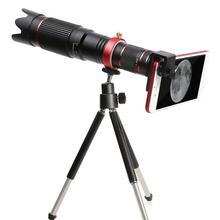 4K HD 36X Zoom optyczny obiektyw aparatu teleobiektyw telefon komórkowy teleskop zakres ze statywem telefon klip do Samsung Iphone Huawei