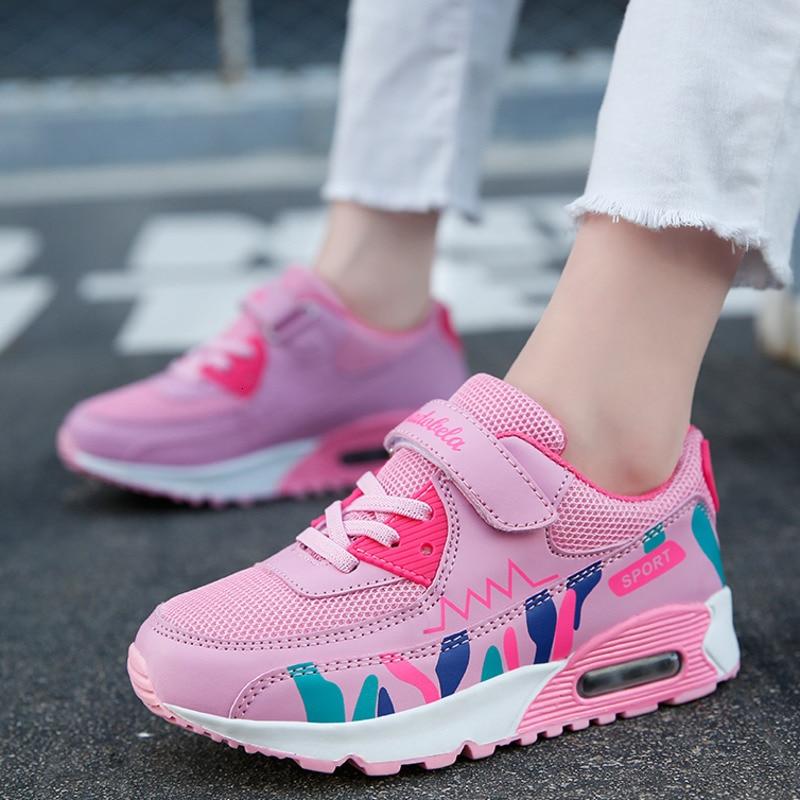 Air Cushion Kids Sport Shoes Girls