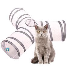 Tunel dla kota zabawka dla kota dla małych psów tunel dla kota artykuły dla zwierząt kot zagraj w zabawka domowa tanie tanio polyester + steel wire BA U9350 SHC