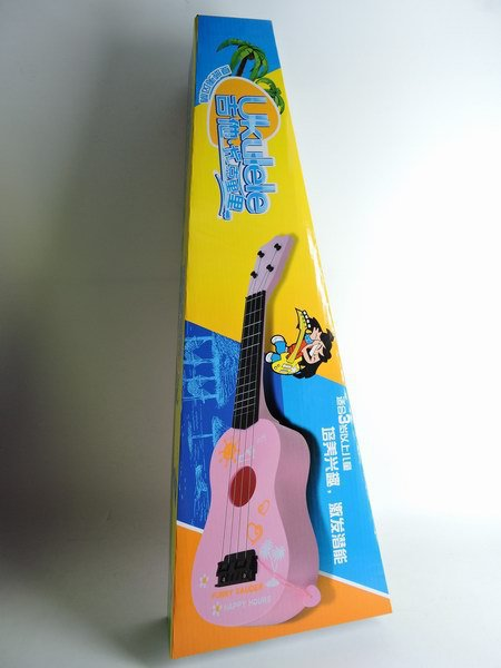 Burst Large Size New Style Double Color Guitar Children Music Guitar Violin Toy Manufacturers Direct Selling Taobao Hot Selling
