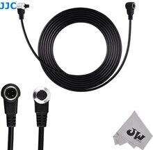 JJC Cable de extensión remoto para Canon EOS 5D Mark III II 6D 7D Mark II 1D Mark II III IV 1Ds Mark II 5DS R reemplazar ET 1000N3