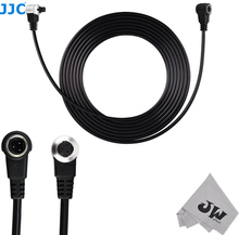 JJC Remote Extension Cord Cable for Canon EOS 5D Mark III II 6D 7D Mark II 1D Mark II III IV 1Ds Mark II 5DS R Replace ET 1000N3