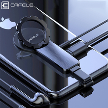 Cafele 2 in 1 For iPhone Adapter For iPhone X XS MAX XR X 7 8 Plus Ring Holder with Magnet 3.5mm Audio Earphone Adapter Cable цена и фото