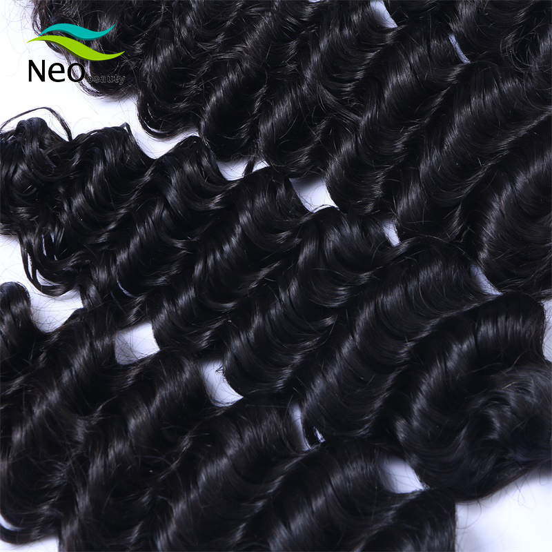 Neobeauty Hair Virgin Deep Wave Bundles Deal Can Buy 3 Or 4 Pcs Burmese  Hair Bundles 100% Human Hair Extensions Natural Color