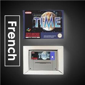 Image 2 - Illusion de temps EUR Version RPG jeu carte batterie économiser avec boîte de vente au détail