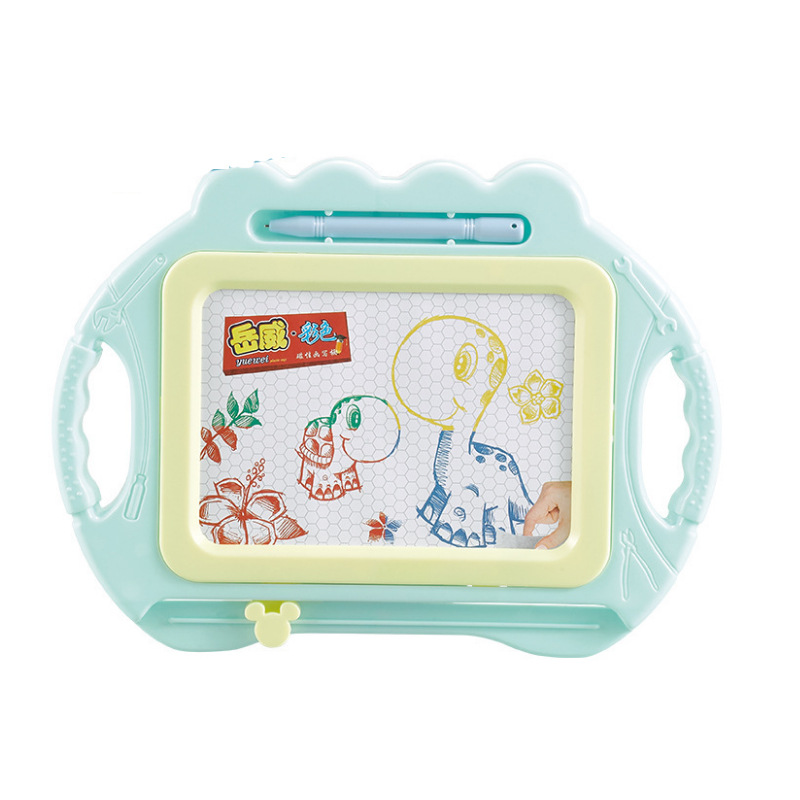 New Products Hot Sales Small Color Sketchpad Magnetic Children'S Educational Early Childhood Painted Writing Board Toys Learning