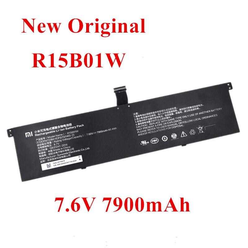 New Original Laptop Replacement Li-ion Battery For  Xiaomi Mi TM1701 171501-AQ R15B01W PRO GTX 7.6V 7900mAh