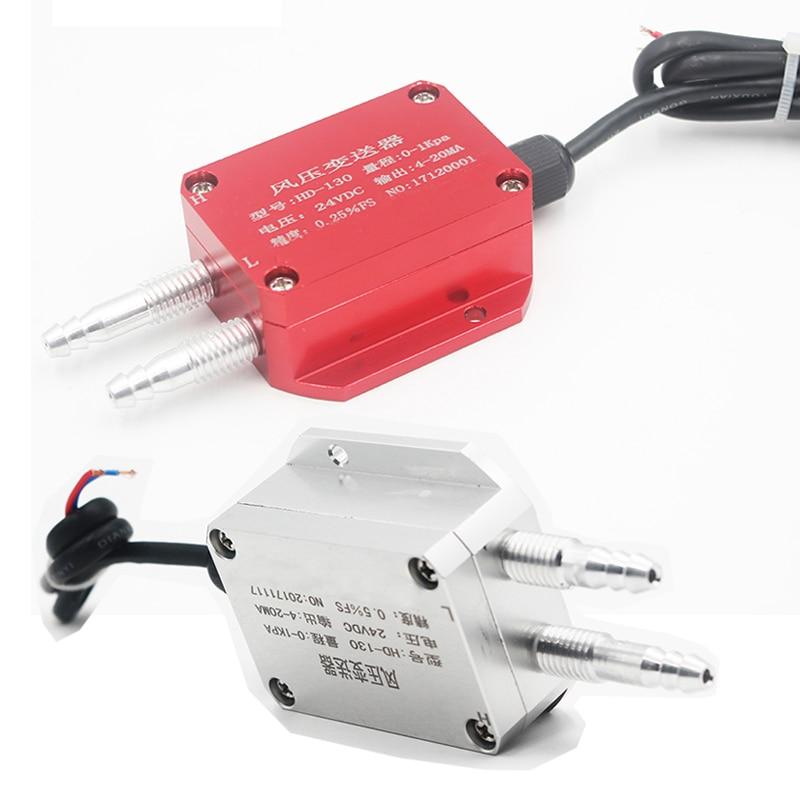 JIXUN QDF70B capteur de pression différentielle d'air 0-10Ka 4-20mA 0-5V transmetteur de pression différentielle