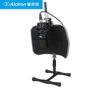 Image 4 - Alctron PF52 Studio Microfoon Screen Akoestische Filter Draagbare Desktop Opname Voorruit Pop Filter Microfoon Accessoire