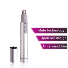 Men Nose Hair Trimmer Tool Multifunction Battery Powered Painless Electric Shavi