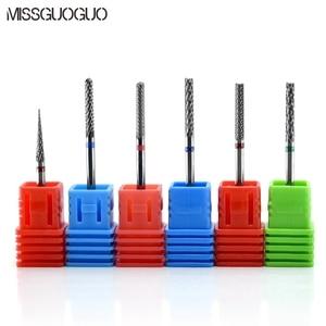 Image 3 - Missguoguo Nail Art Elektrische Nagel Boren Manicure Snijders Boren Voor Manicure Machine Nail Art Boren Accessoires Tips
