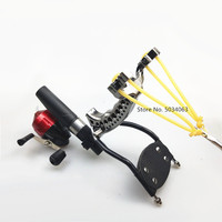 Shooting powerful fishing compound bow catching fish high speed hunting 1