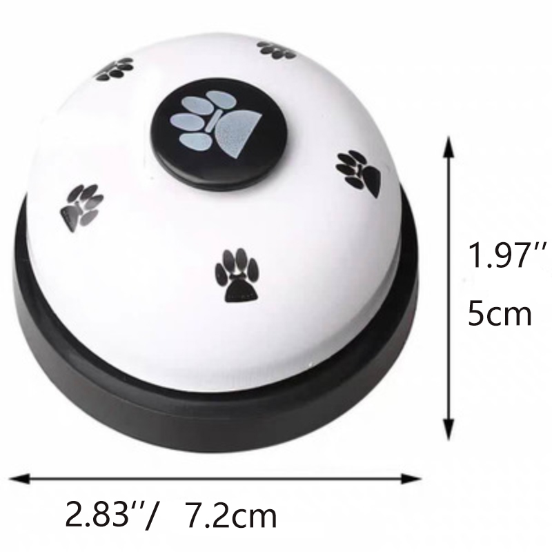 Pet Training Supplies Dog Training Bells Cat Dog Toys Colorful Stainless Dining Bell Puppy  Training Equipment Device-5