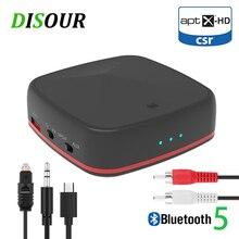 CSR8675 5.0 Bluetooth אודיו משדר מקלט Aptx HD/LL מוסיקה אלחוטי מתאם RCA/3.5 MM AUX שקע נמוך חביון עבור טלוויזיה מחשב רכב