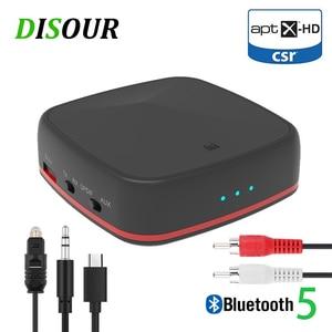 Image 1 - CSR8675 receptor y transmisor de Audio Bluetooth 5,0 adaptador inalámbrico de música Aptx HD/LL RCA/3,5 MM AUX Jack de baja latencia para TV, PC y coche