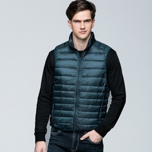 ZOGAA 2019 New Style Mens Spring Winter Vests Warm Sleeveless Vest Jacket Men Slim Fit Casual Coats Size XS- 3 XL