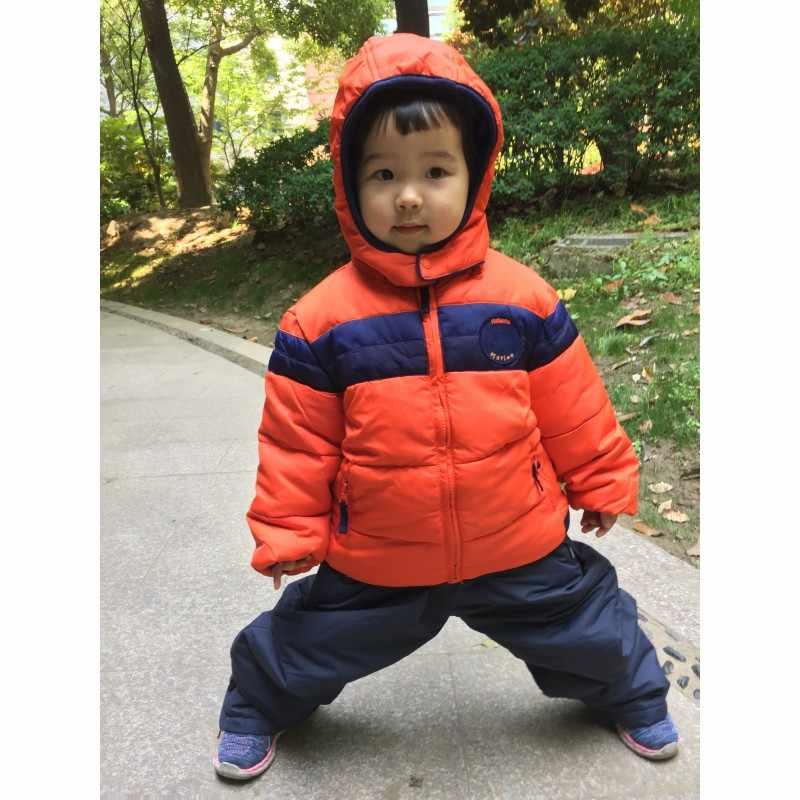 Mingkids zimowy płaszcz z podszewką dla chłopca w pełni wiatroodporny wodoodporny chłopięcy jesienna kurtka śnieg eksport europa jakość