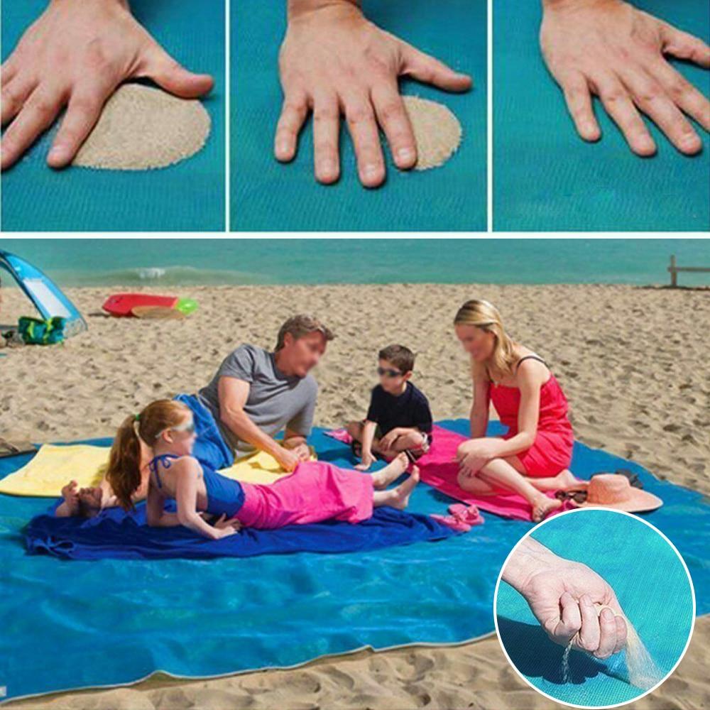 1 ПК Magic Beach Mat Camping Waterproof Mattress Blanket Foldable Sandless Beach Mat +Naturehike Quick Deliver
