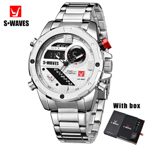 Swaves Mens Watches With Box D