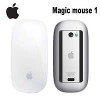Ratón mágico Original de Apple, 1 ratón inalámbrico con Bluetooth para Mac Book Macbook Air Mac Pro, diseño ergonómico, ratón multitáctil inteligente