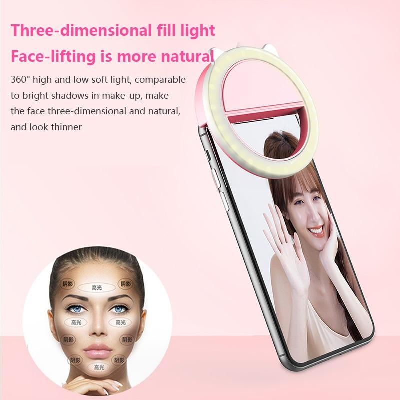 LED Selfie Ring Light For Smartphones