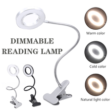 Led Book Light Clip-On Flexible LED Lamp Light