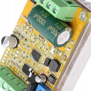 Image 3 - Placa de controlador sem escova quente do motor de wsfs 380w 3 fases (não/sem sensor hall) placa de motorista do plc de bldc pwm dc 6.5 50v